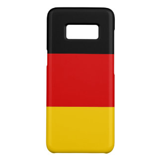 Samsung Galaxy S8 Case with flag of Germany