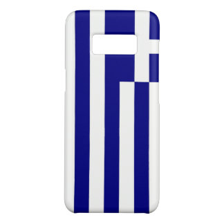 Samsung Galaxy S8 Case with flag of Greece