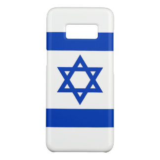 Samsung Galaxy S8 Case with flag of Israel