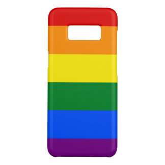 Samsung Galaxy S8 Case with flag of LGBT Pride