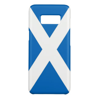 Samsung Galaxy S8 Case with flag of Scotland