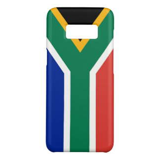 Samsung Galaxy S8 Case with flag of South Africa