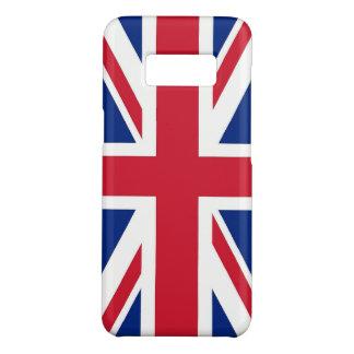 Samsung Galaxy S8 Case with flag of United Kingdom