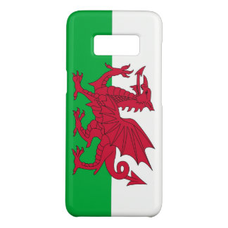 Samsung Galaxy S8 Case with flag of Wales