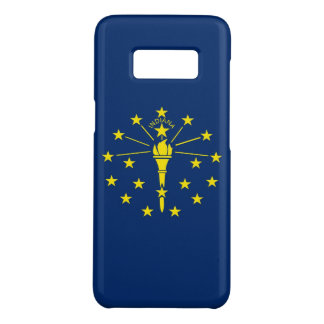 Samsung Galaxy S8 Case with Indiana Flag