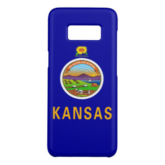Samsung Galaxy S8 Case with Kansas Flag