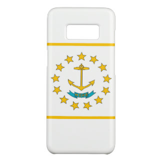 Samsung Galaxy S8 Case with Rhode Island Flag