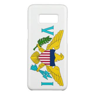 Samsung Galaxy S8 Case with Virgin Islands Flag