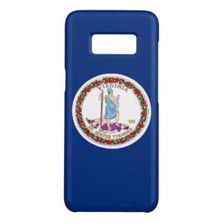 Samsung Galaxy S8 Case with Virginia Flag