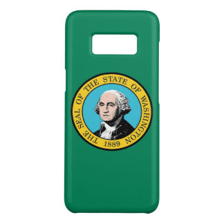 Samsung Galaxy S8 Case with Washington State Flag
