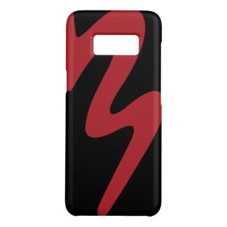 Samsung Galaxy S8 Red Logo Cell Phone Case