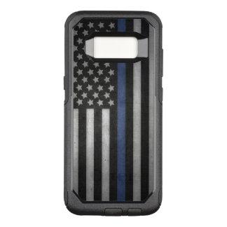 Samsung Galaxy S8 Thin Blue Line Cell Phone Case