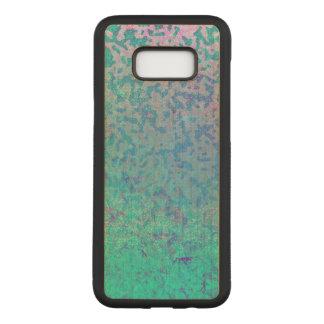 Samsung Galaxy S8+ Wood Case Glitter Star Dust