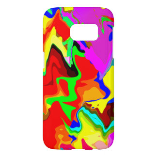 Samsung Galaxy Veined in colors Style Case
