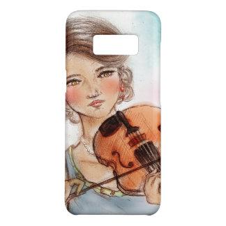 Samsung Galaxy vintage case - Violin
