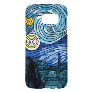 Samsung S7 Galaxy Starry Night Phone Case
