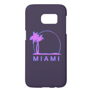 Samsung S7 Miami cover- pink and light blue