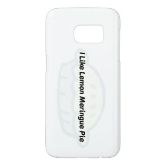 SAMSUNG S7 PHONE CASE 'I LIKE LEMON MERINGUE PIE'