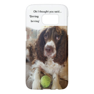 Samsung S7 Springer spaniel mobile phone case