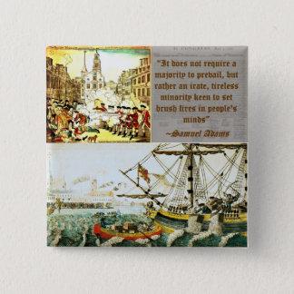 Samuel Adams 15 Cm Square Badge