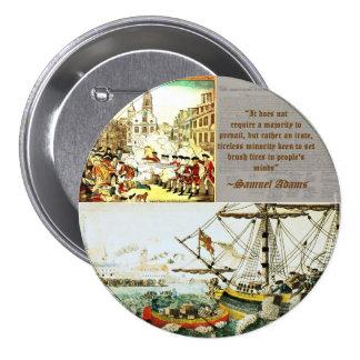 Samuel Adams Pinback Buttons