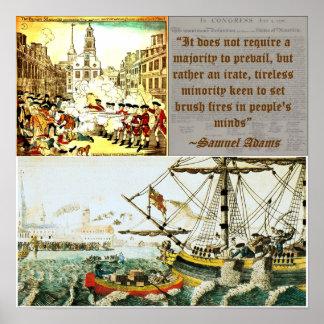 Samuel Adams - Boston Uprising Posters