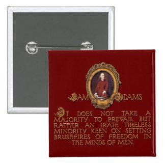 Samuel Adams Irate and Tireless Guy Button