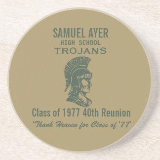 Samuel Ayer Class of '77 40th Reunion Memento Coaster