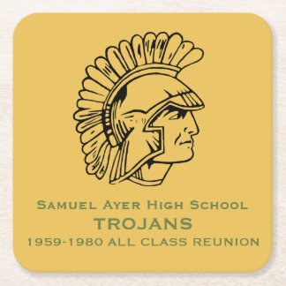 Samuel Ayer Trojans All Class Reunion Coaster