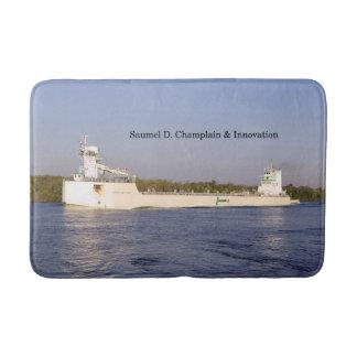 Samuel D. Champlain & Innovation bath mat
