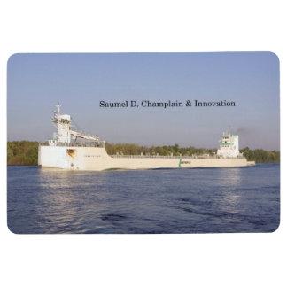 Samuel D. Champlain & Innovation floor mat