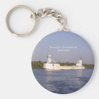 Samuel D. Champlain & Innovation key chain
