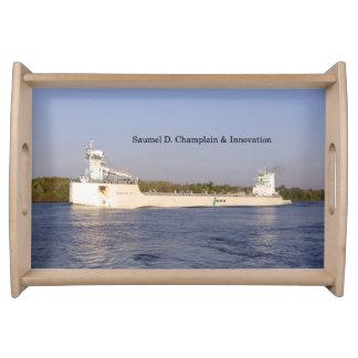 Samuel D. Champlain & Innovation tray