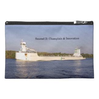 Samuel D. Champlain & Innovation zipper bag