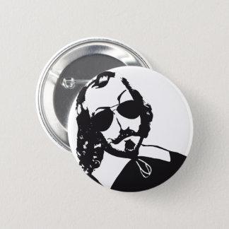 Samuel de Champlain Hipster glasses future Quebec 6 Cm Round Badge