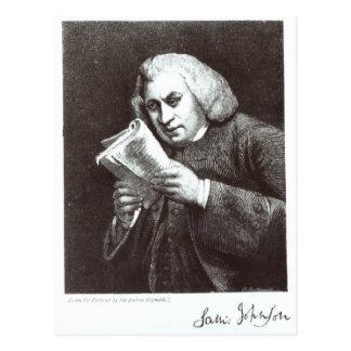 Samuel Johnson Postcard