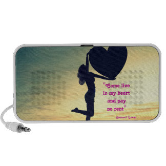 Samuel Lover quote heart love inspiration PC Speakers