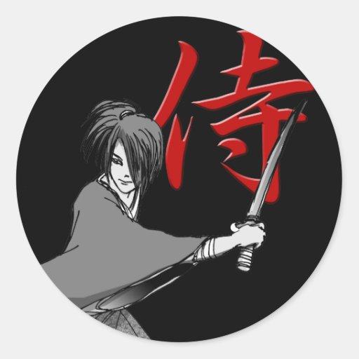 SAMURAI 01a Stickers