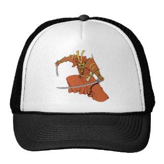 Samurai 6 ~ Ninjas Martial Arts Warrior Fantasy Ar Trucker Hat