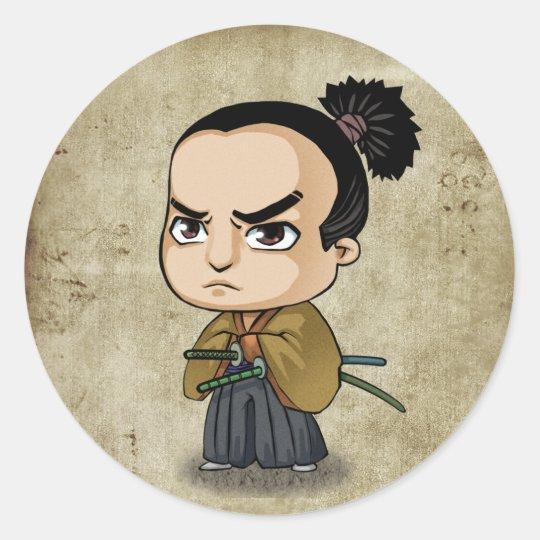Samurai and Ninja Stickers - Kiyotsura (Young)