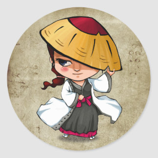 Samurai and Ninja Stickers - Murasaki