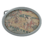Samurai Battle circa 1813 Belt Buckles