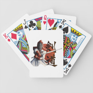 samurai bicycle playing cards