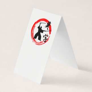 Samurai Business Card
