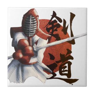 samurai ceramic tile