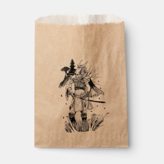 Samurai Chick Favour Bag