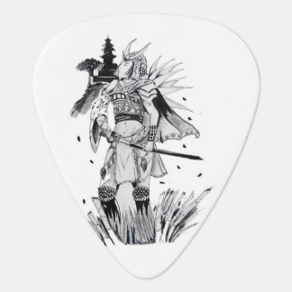 Samurai Chick Guitar Pick