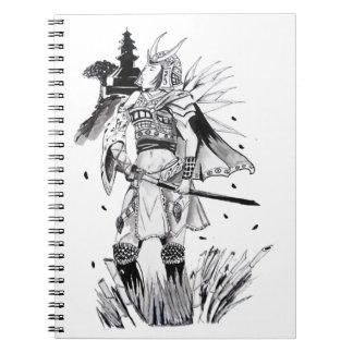 Samurai Chick Spiral Note Books
