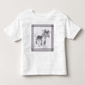 Samurai Chihuahua Toddler T-Shirt