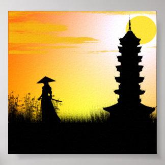 Samurai Dawn Poster